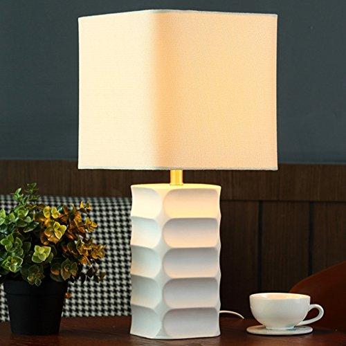 SKC Lighting-lampe de table Nordique Moderne Simple Style Creative Lampe de Table en Céramique, Chambre Lampe de Salon Lampe de Salon, 24 * 24 * 48CM / E27,220V