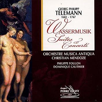 Telemann : Wassermusik suites & concerti