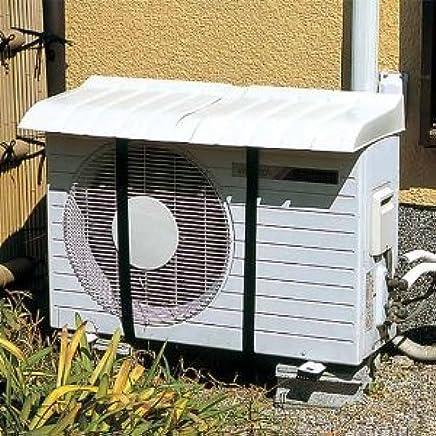 【簡単取付 女性の方でも約10分】 エアコン室外機日除けカバー 【4台まとめ買い】 / エアコン 省エネカバー 電気代節約 節電 節電対策