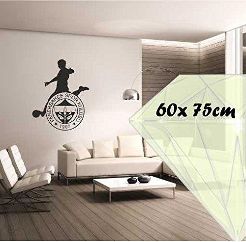 Saphir Design Wandtattoo Fenerbahce LigTV M086 (Schwarz Matt, 60x750cm)