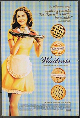 Waitress (2007) Original One Sheet Poster (27x40) KERI RUSSELL