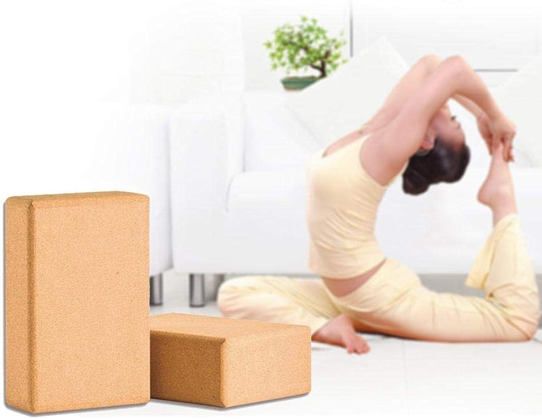 Yoga Cork Block 2er-Set, Rutschfeste Blcke Für Unterstützung, Balance-Komfort - Für Jede Art Stil