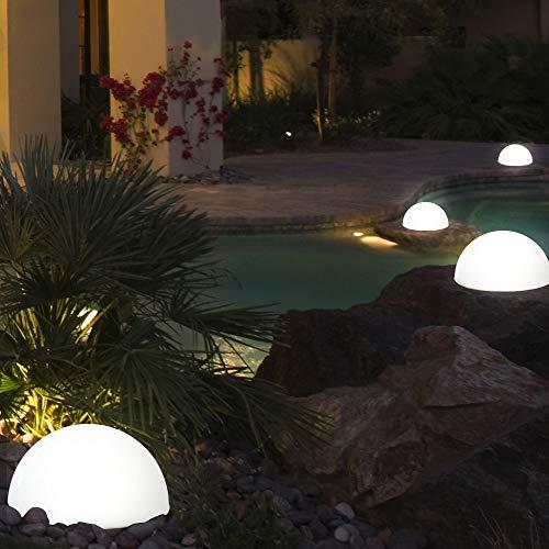 LED Solarleuchte Kugelform Außenbereich Garten Leuchte Lampe Beleuchtung Globo 33776, Menge:4