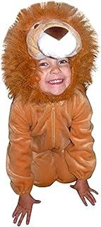 Seruna F57 Tamaño 4-5 Años Traje León Para Bebés y Niños Pequeños, Cómodo de Llevar en la Ropa Normal