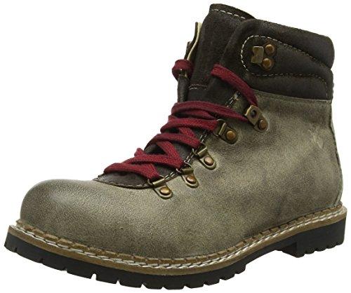 Spieth & Wensky Herren 550 H Jarrek Combat Boots, Beige (Whisky 5040), 47 EU