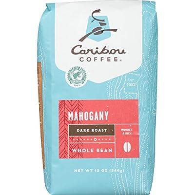 Current Asin: B00H345GT6 Caribou Coffee, Mahogany Dark Roast, Whole Bean, 12 oz. Bag, Dark Roast Blend of El Salvador, Sumatra, & Guatemala Coffee Beans, Earthy, Dark, & Bold, with A Raw Sugar Finish