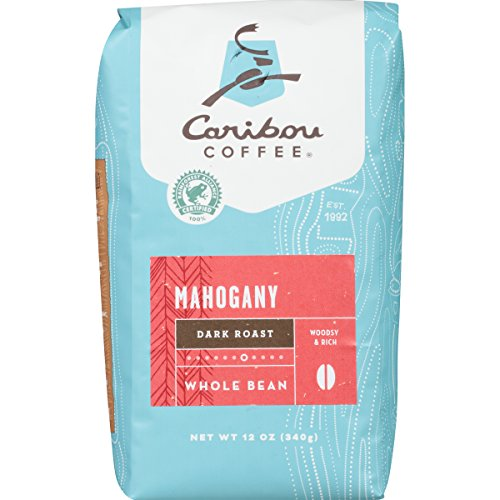 Caribou Coffee Mahogany Dark Roast Whole Bean Coffee - 12oz
