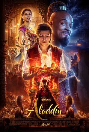 Aladdin (2019) – U.S Movie Wall Poster Print - 30cm x 43cm / 12 Inches x 17 Inches