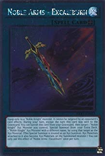 Yu-Gi-Oh! - Noble Arms - Excaliburn (NKRT-EN023) - Noble Knights of the Round Table - 1st Edition - Platinum Rare