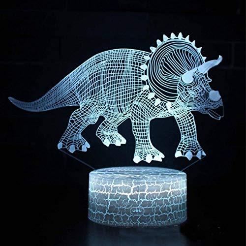 Lámpara 3D de ilusión óptica de material acrílico panel de abdominales decoración y decoración de Navidad Halloween – Base de abdominales – Alimentado por USB, ojos de ahorro de energía – Adecuado para sala de estar bar fiesta