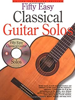 50 Easy Classical Guitar Solos