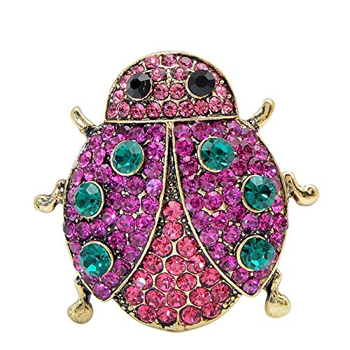 GLKHM Brooches for Ladies Vintage Fashion Brooches Insect Pin Brooch Accessories