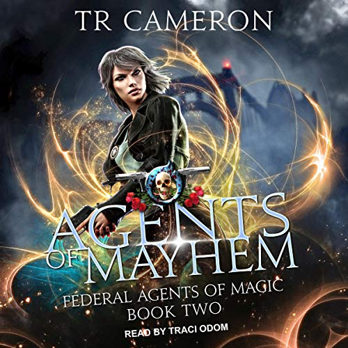Agents of Mayhem audiobook cover art