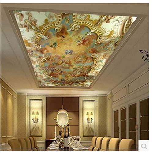 Meaosy foto behang Zenith plafond fresco geloof plafond schilderij moderne Europese Hotel KTV 3D muur muurbehang 200x140cm