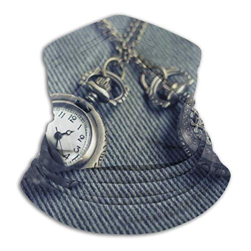 AEMAPE Colgante, Collar, Reloj, mascarilla, Cuello, Calentador, Cuello, Bufanda, pañuelo, Bufanda, pasamontañas