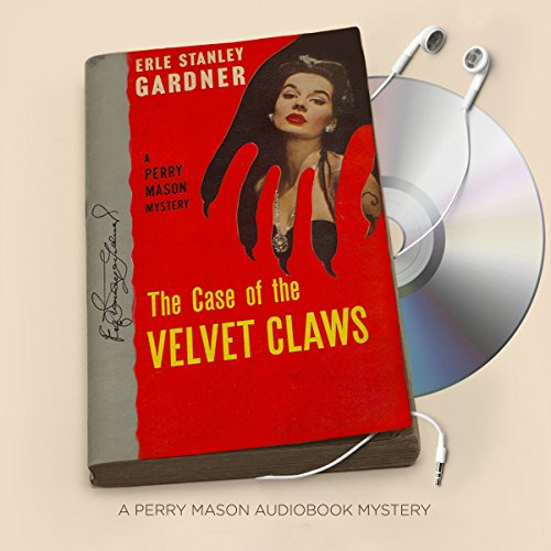 The Case of the Velvet Claws audiobook cover art