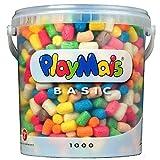 Playmaisá Loick Biowertstoff 160027 - Secchiello Basic, più di 1000 Pezzi