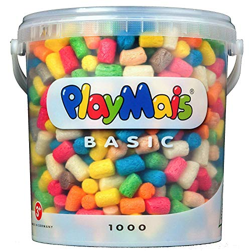 Play Mais- Pack de 1000 Piezas de Relleno para Embalaje (PLAYMAIS 4556)
