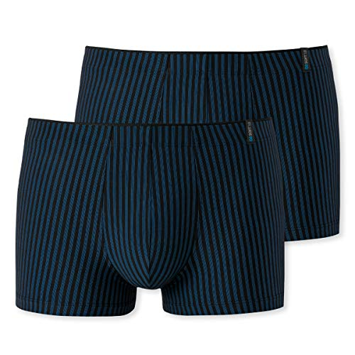 Schiesser - Long Life Soft - Shorts Pants - 149047-2er Spar-Pack (7 Navy)