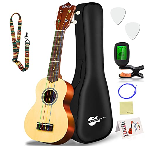 Everjoys Soprano Rainbow Ukulele - Best Ukuleles