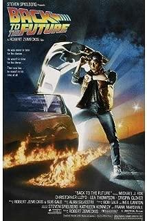 Back to The Future Michael J Fox Movie Poster 16x25 Print Sticker Retro Unframed Wall Art Gifts 40x63cm