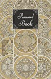 Password Book: Internet Address and Password Logbook with Alphabetical Tabs, Personal Digital Security Organizer (Vintage Russian Pattern)