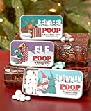 Set of 3 Novelty 'Character Poop' Mint Tins