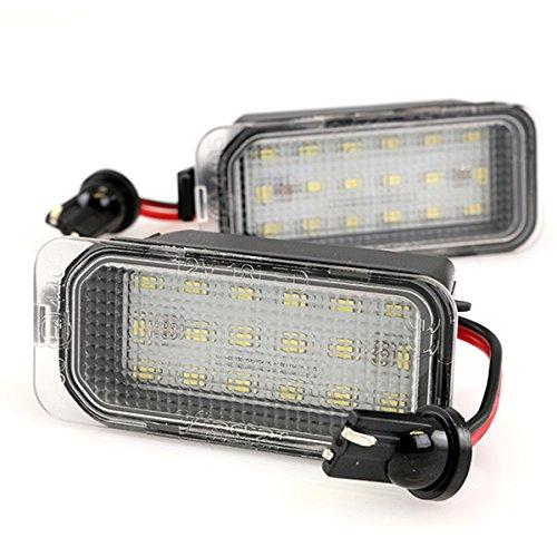 LIGHTDELUX LED Kennzeichenbeleuchtung mit Zulassung Canbus Plug&Play V-030706