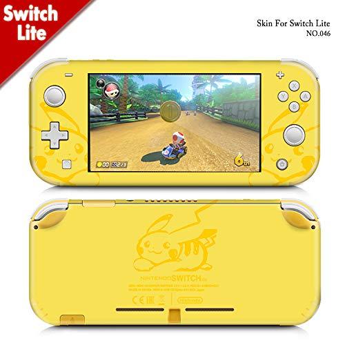 Kaladior Skin Sticker for Nintendo Switch Lite (Yellow)