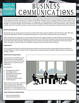 Paperback Business Communications (Speedy Study Guide) Book