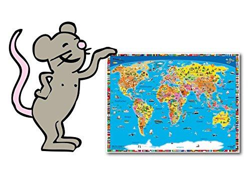 Kleine Schreibunterlage, Mousepad: Hochwertiges Material, schadstofffrei!