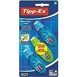 Tipp-Ex Micro Tape Twist Rubans Correcteurs 8 m x 5 mm - Corps Couleurs Assorties,...