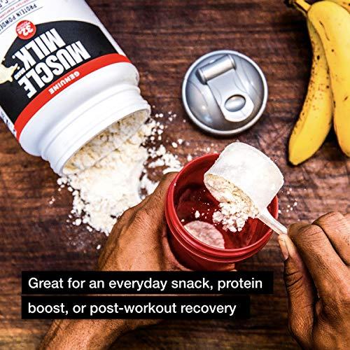 Muscle Milk Genuine Protein Powder, Vanilla Crème, 32g Protein, 2.47 Pound, 16 Servings