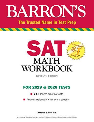 SAT Math Workbook (Barron's Test Prep)