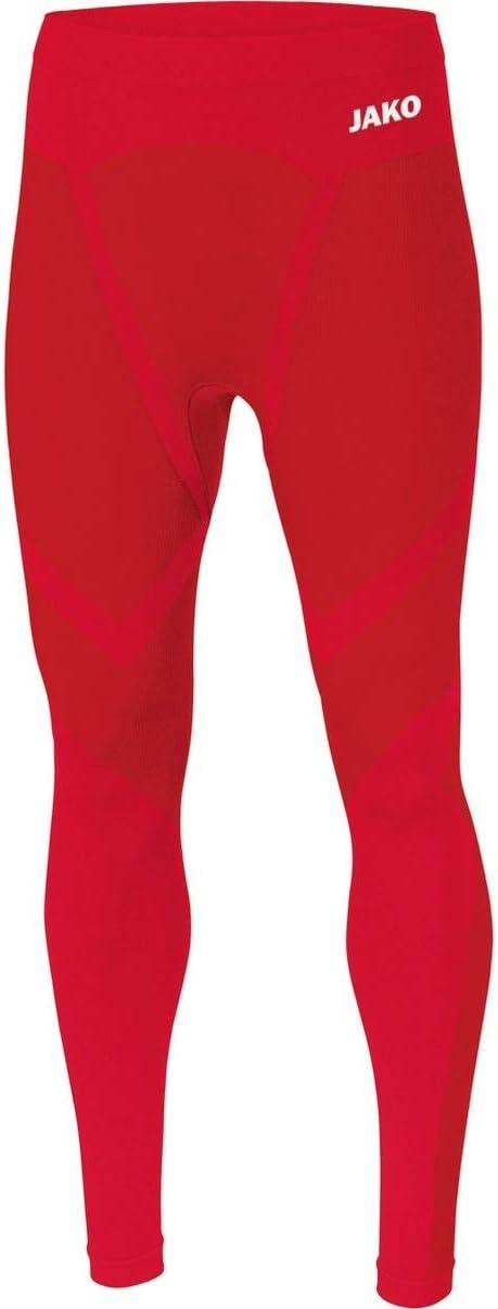 Medium Rojo Deportivo Hombre JAKO Comfort 2.0 Mallas largas