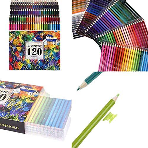 KunLS lapices de Colores Profesionales lapices Colores Lápices de Colorear para Adultos...