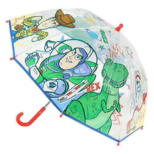 CERDÁ LIFE'S LITTLE MOMENTS- Paraguas Transparente de Toy Story - Licencia Oficial Disney, Dibujos Animados, Color, único (2400000555)