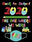 back to school 2020 the one where we were masked: cursive handwriting workbook for teens letters and...