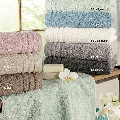 Ross Frottee Handtuch oder Duschtuch Rainbow in Pastell Farben, Größe:Handtuch 50 x 100 cm, Farben:55 - Sand