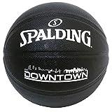 SPALDING(スポルディング) バスケットボール ダウンタウン PU コンポジット ブラック 7号球 76-586J バスケ バスケット 76-586J
