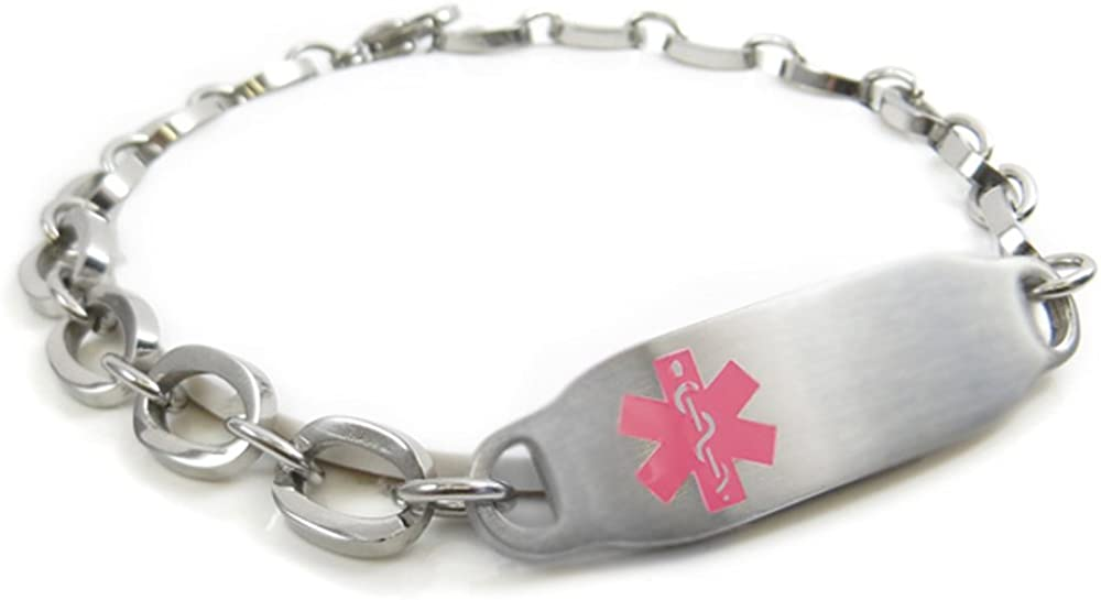 My Identity Doctor Reservation National uniform free shipping - Pre-Engraved Customizable Medica Band Lap