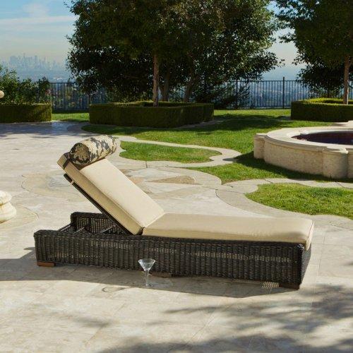 RST Brands OP-PELS-LNK-E Resort Patio Chaise Lounge Chair
