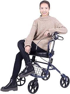 Mobility Aids & Supplies Pedestrian Old Man Trolley Shopping Cart Walking For Elderly Pedestrians Seniors Can Take A Foldi...