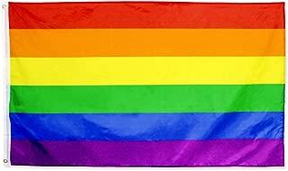 FLAGLINK Gay Pride Flag- 3x5 Fts – LGBT Rainbow Flag Banner