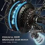 Zoom IMG-2 vivi bici elettrica pieghevole 26