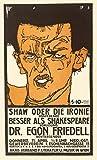 Art-Galerie Digitaldruck/Poster Egon Schiele - Shaw oder