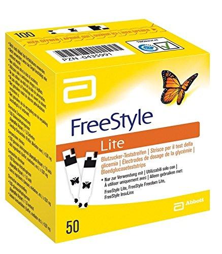 FREESTYLE LITE GLICEMIA 50STR