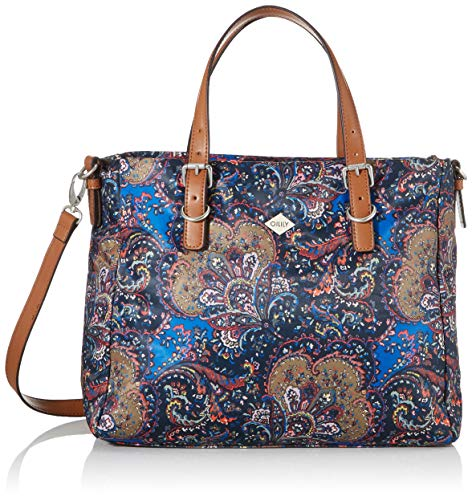 Oilily Damen Picnic Handbag Mhz Henkeltasche Blau (nightblue)