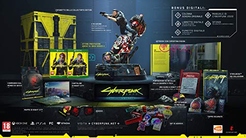 Cyberpunk 2077 Collector'S Edition + Steelbook - Collector'S Limited - Xbox One