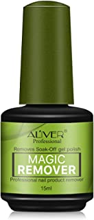 Magic Soak-Off Gel Nail Polish Remover, Professional Remover Nail Polish Delete Primer Acrylic Clean Degreaser For Nail Art Lacquer 15ml